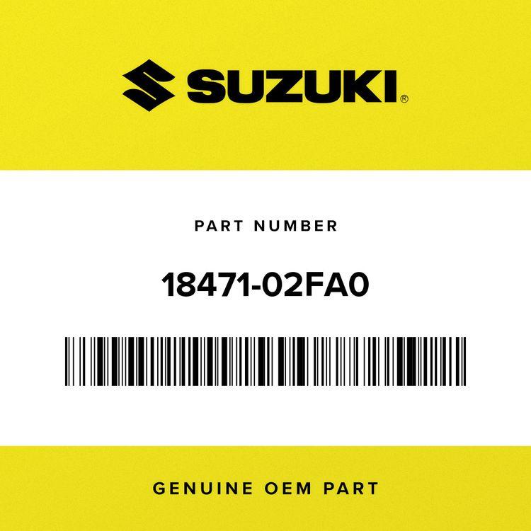 Suzuki HOSE, 2ND AIR VALVE REAR 18471-02FA0
