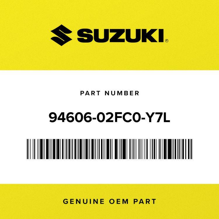 Suzuki COWL, UNDER REAR (BLACK) 94606-02FC0-Y7L