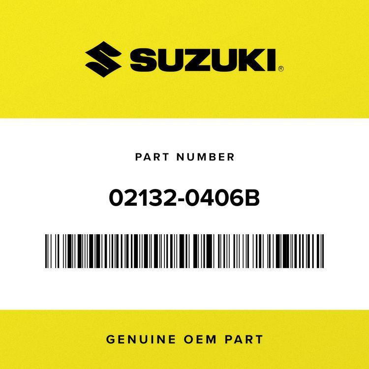 Suzuki SCREW 02132-0406B