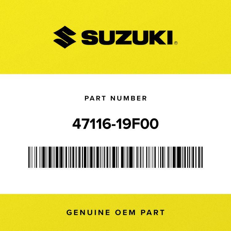 Suzuki CUSHION, FR UPPER (10X28X13) 47116-19F00