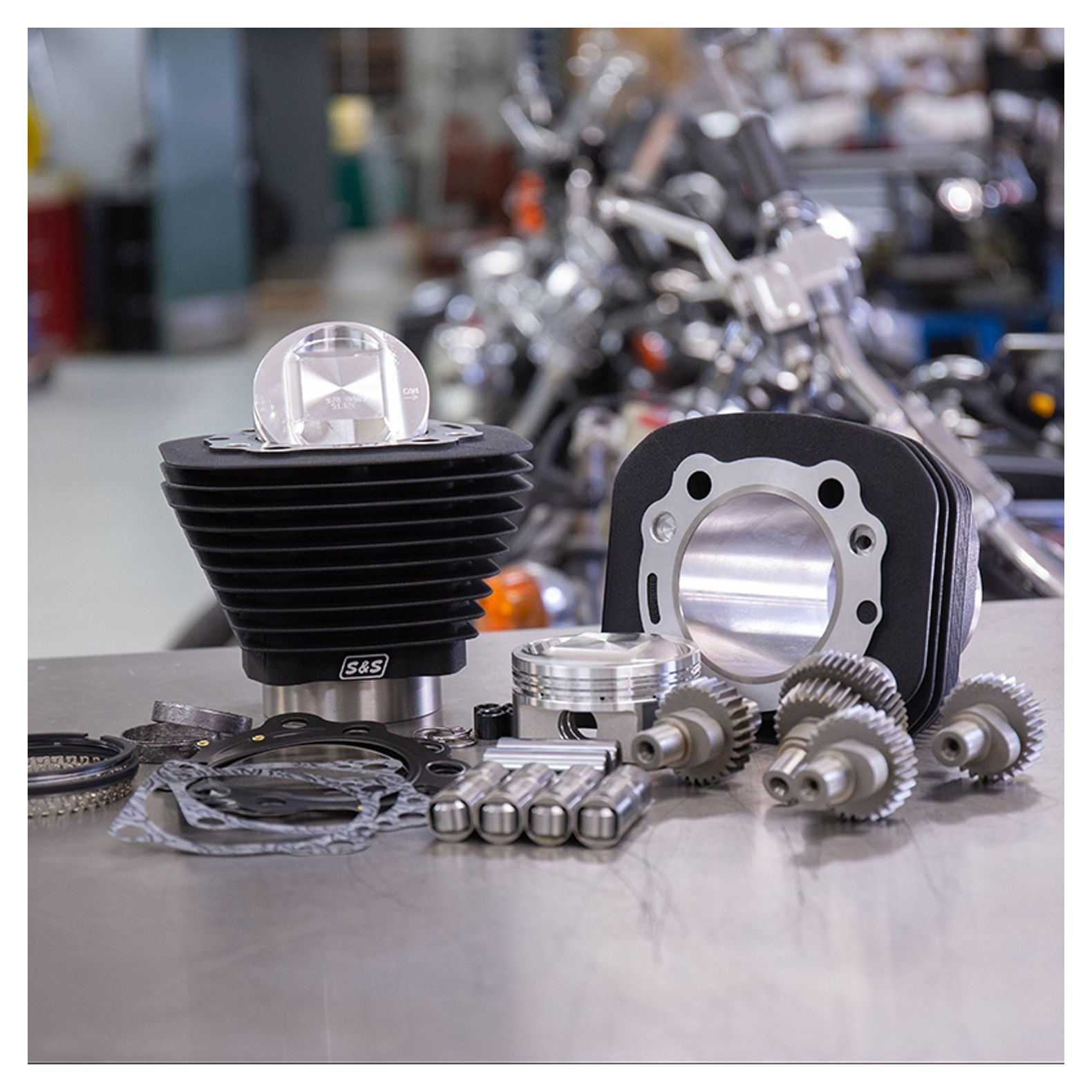 S&S 1200 To 1250 Hooligan Big Bore Cam Kit For Harley Sportster 2000-2020