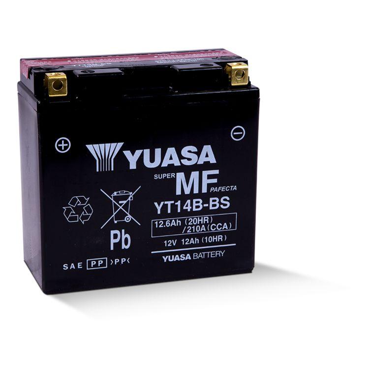 Yuasa YT14B-BS AGM Battery