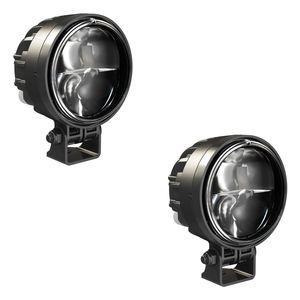 J.W. Speaker 97 Bi-LED Headlight Kit With Pedestal Mounts
