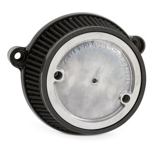 Arlen Ness Naked Stage 1 Big Sucker Round Air Cleaner For Harley M8 2017-2019