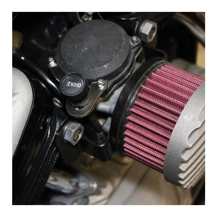 TC Bros Choke Relocation Kit For Harley CV Carburetors