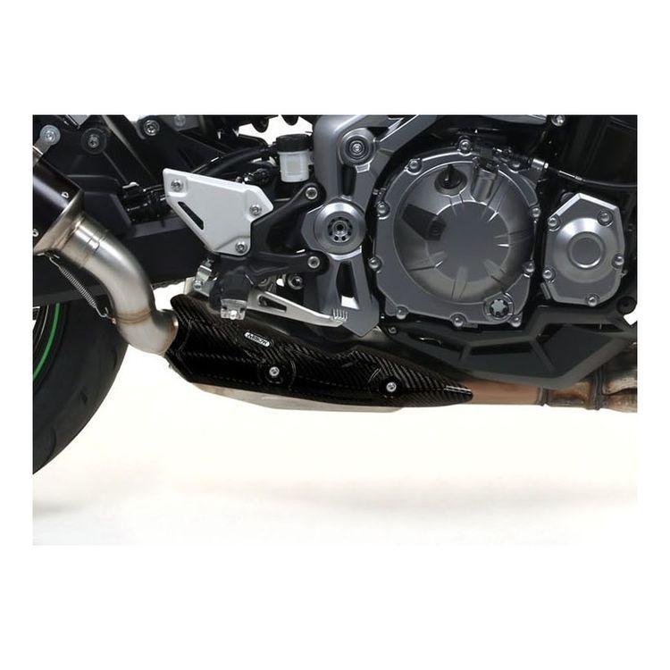 Arrow Carbon Fiber Heat Shield Kawasaki Z900 2017-2020