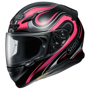 Shoei RF-1200 Intense Helmet Black/Pink / SM [Demo - Acceptable]