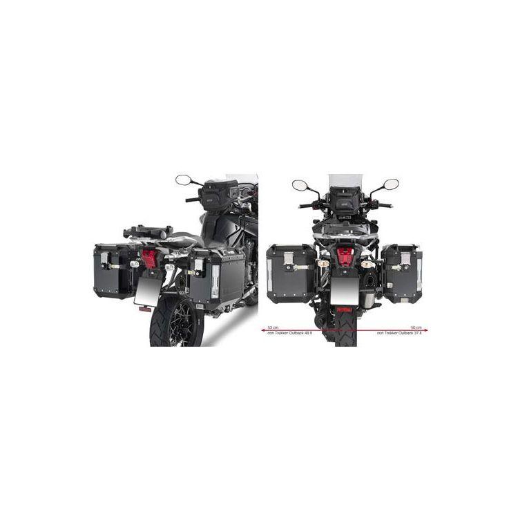 Givi PL6408CAM Side Case Racks Triumph Tiger Explorer 1200 2012-2019 Black [Previously Installed]