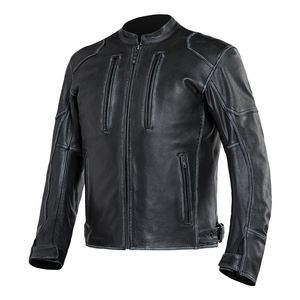 VINTAGE BIKER LEDERJACKE 36 38 S biker leather jacket 90s