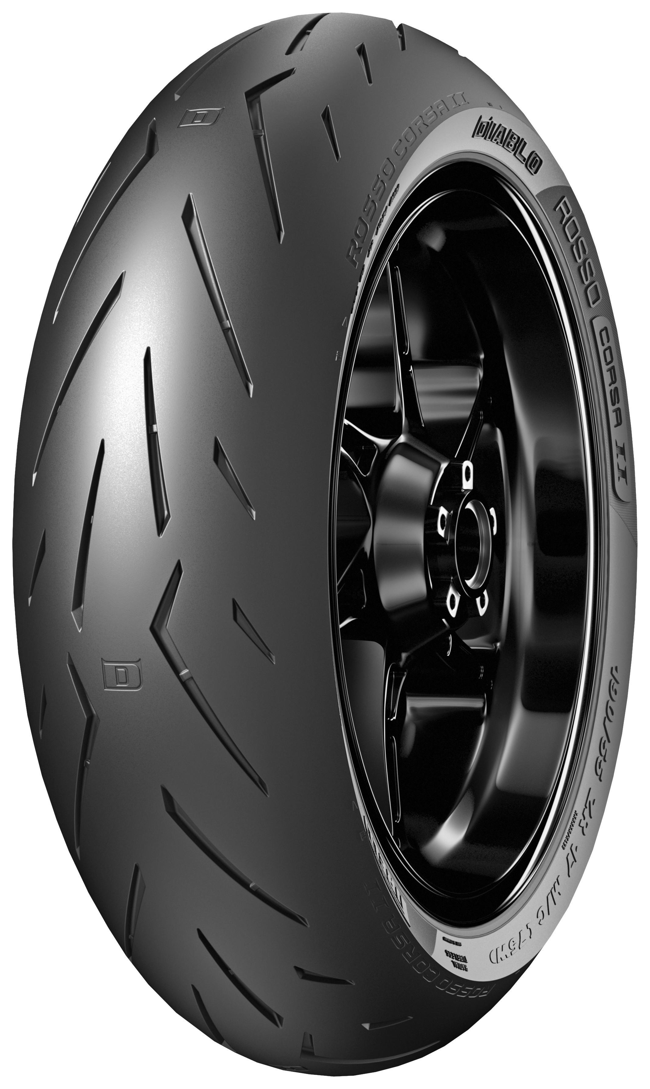 Sport Tyre Pirelli Diablo Rosso Corsa 180//55 Rear ZR17 73W Motorcycle Track