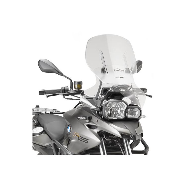 1X Sets BMW F800GS All Years Adjustable Clip On Windshield Windscreen Spoiler