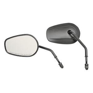 Drag Specialties Teardrop OEM Style Mirrors For Harley