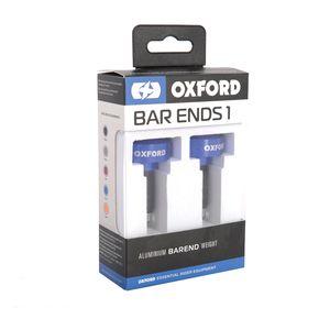 Oxford Black Bar Ends 3 Motorcycle Motorbike Handlebar Fits Standard 22 mm Bars