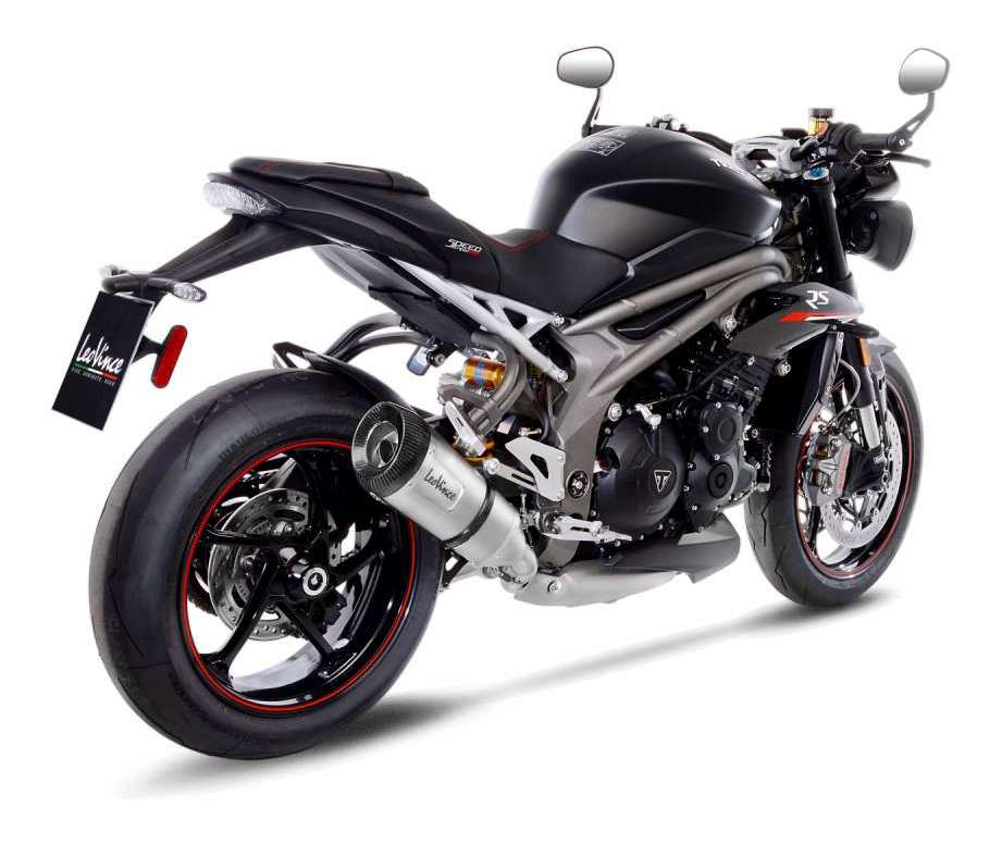 Leovince Factory S Slip On Exhaust Triumph Speed Triple Rs S 2018