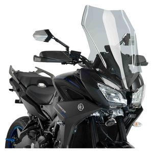 OEM YAMAHA BLACK ENGINE GUARDS PROTECTORS FOR 2019 TRACER 900 MODELS LOGO PAIR