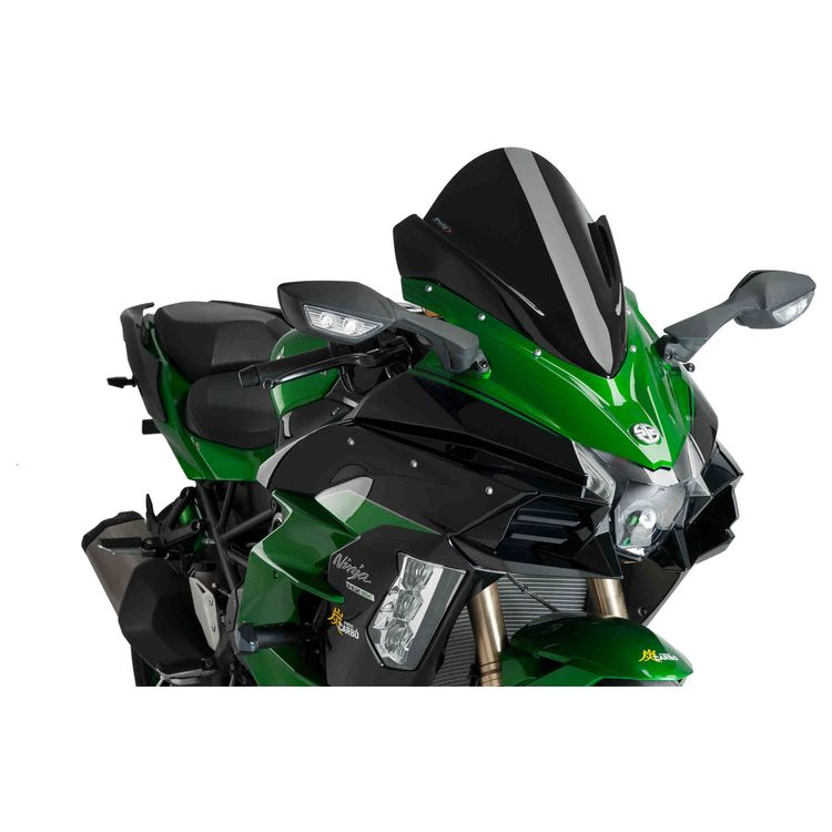 Puig Racing Windscreen Kawasaki Ninja H2 Sx 2018 5 480 Off