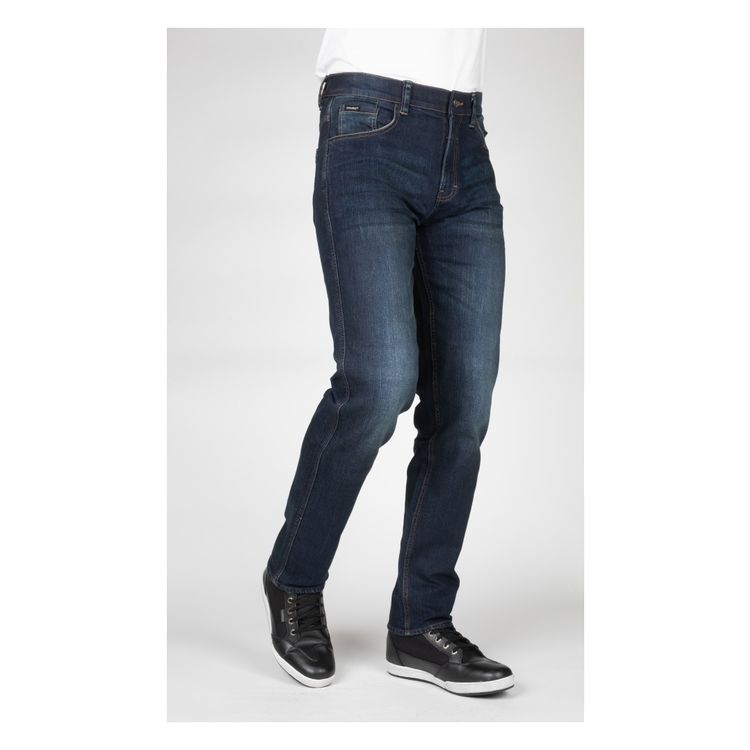 Angel Of Style By Happy Size Straight Cut Jeans Blue Stone