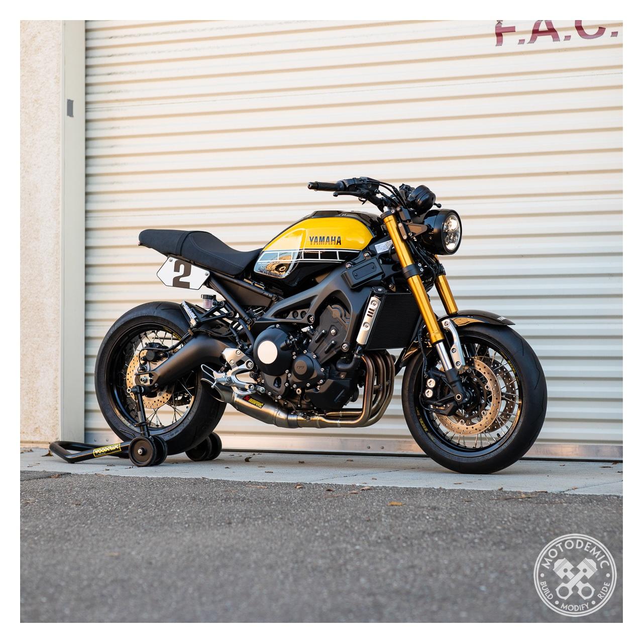 Yamaha Urban Winter Black Leather Motorcycle Gloves RRP £48.99