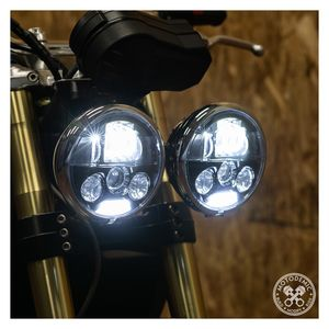 Motodemic LED Headlight Upgrade Kit Triumph