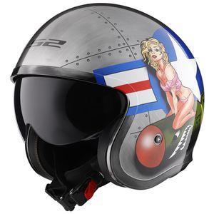 LS2 Spitfire Bombrider Helmet