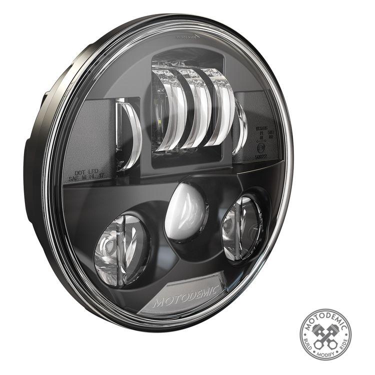 Motodemic LED Headlight Upgrade Kit Triumph Bonneville Bobber 2017