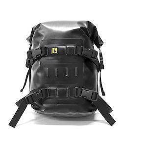 Wolfman Rolie Dry Bag Black/Black / LG [Incomplete]