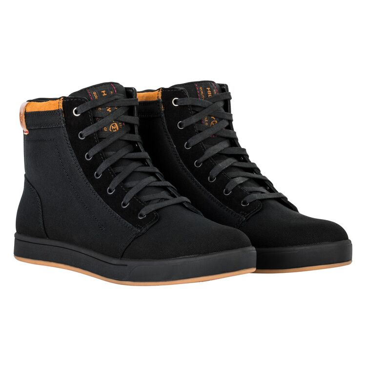 Pic Highway 21 Mens Motorcycle Casual Hi-Top Shoes Riding Protective Axle Shoe