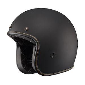 Fly Racing Street .38 Helmet - Solid Matte Black / SM [Blemished - Very Good]