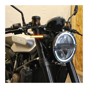 New Rage Cycles LED Front Turn Signals Husqvarna Vitpilen 701 2018-2019