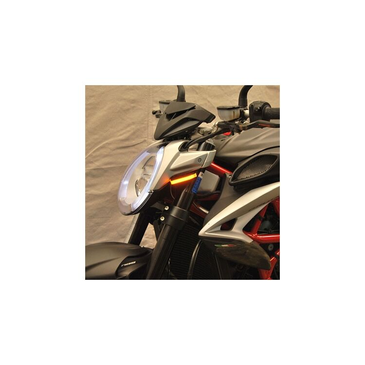 New Rage Cycles LED Front Turn Signals MV Agusta Brutale 800 / RR 2017