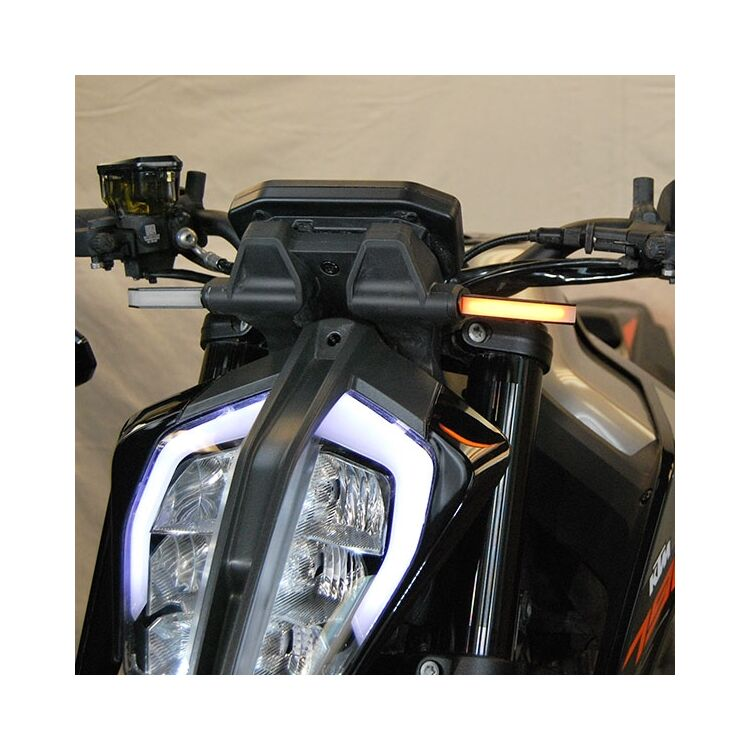 New Rage Cycles LED Front Turn Signals KTM 790 Duke 2018-2019