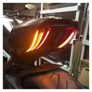 New Rage Cycles LED Rear Turn Signals Ducati Diavel 2011-2018