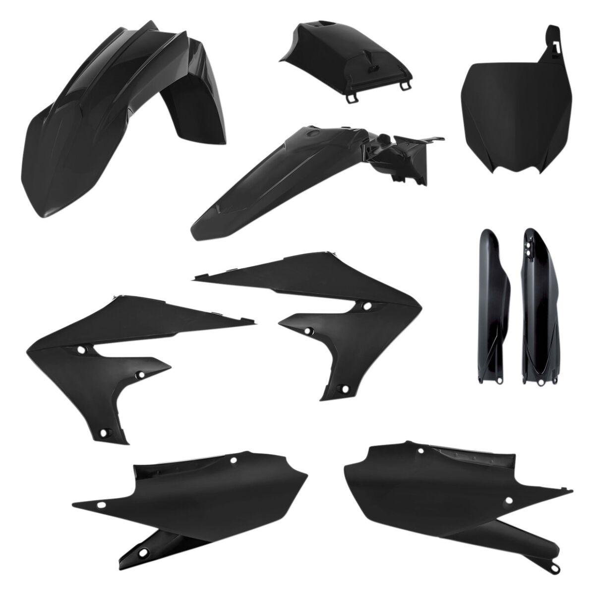 Acerbis Full Plastic Kit Black