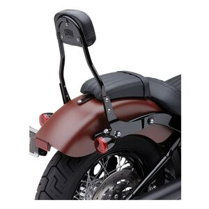 Cobra Round Detachable Backrest For Harley
