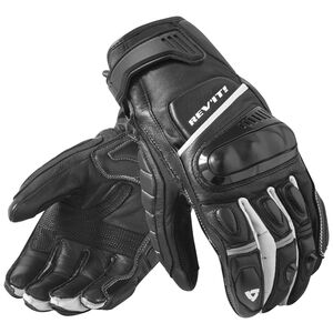 REV'IT! Chicane Gloves Black/White / SM [Blemished - Very Good]