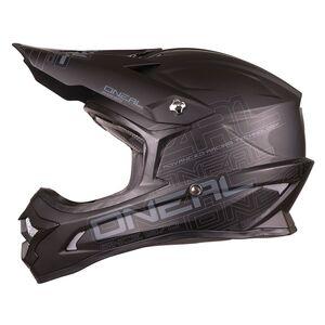 O'Neal Youth 3 Series Helmet - Solid Flat Black / MD [Demo - Good]