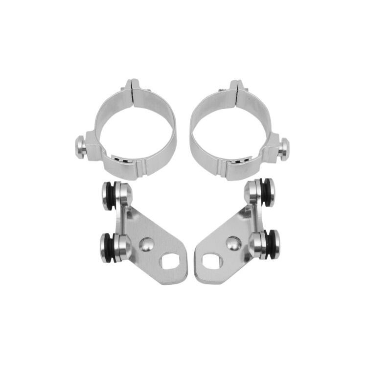 Memphis Shades Metric Trigger-Lock Lowers Mounting Kit Kawasaki / Honda / Suzuki [Open Box]