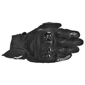 Alpinestars GPX Gloves (SM) Black / LG [Demo - Good]