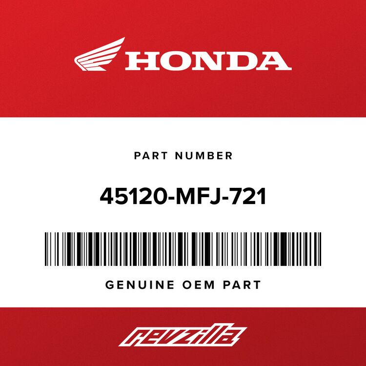 Honda DISK, R. FR. BRAKE 45120-MFJ-721