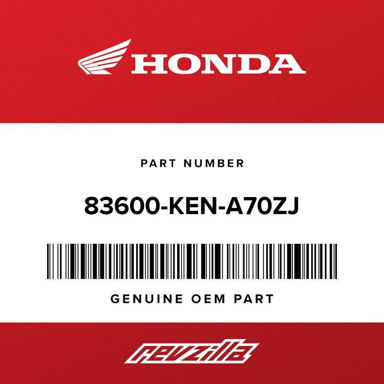 Honda COVER ASSY., R. SIDE *R300C* (WL) (CANDY RUBIDIUM RED) 83600-KEN-A70ZJ