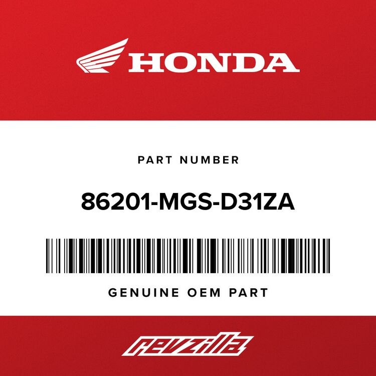 Honda MARK, R. WING (TYPE1) 86201-MGS-D31ZA