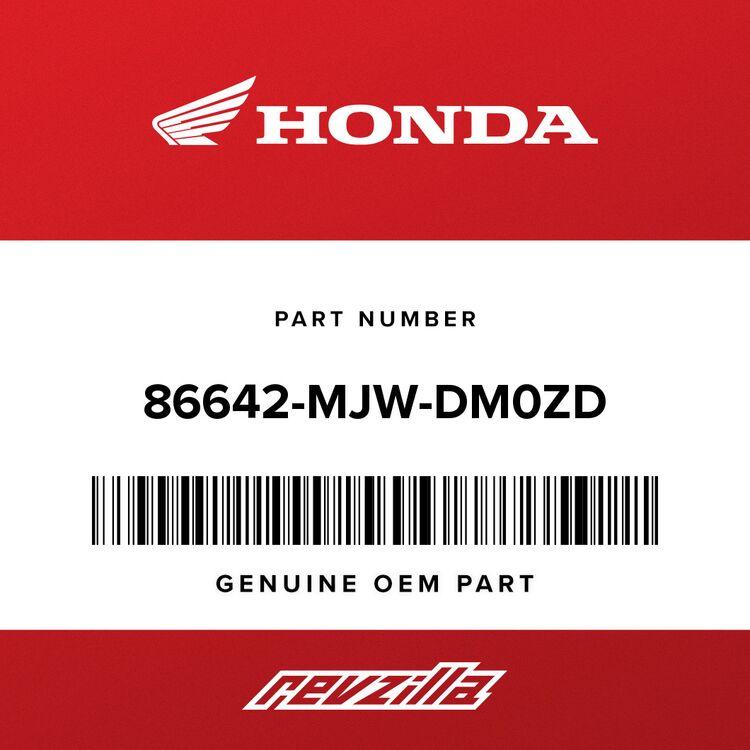 Honda STRIPE, L. MIDDLE COWL (TYPE1) 86642-MJW-DM0ZD