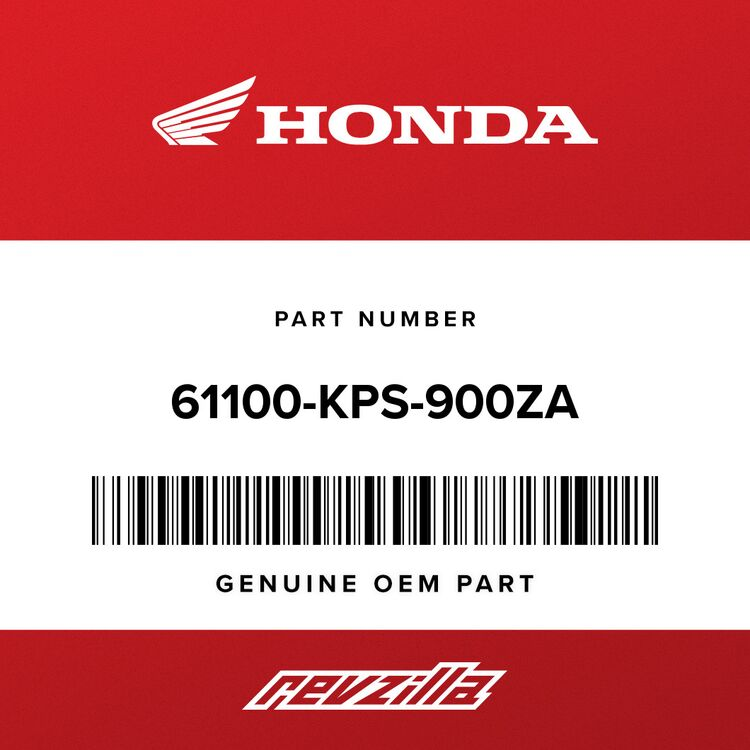 Honda FENDER, FR. *R134* (FIGHTING RED) 61100-KPS-900ZA
