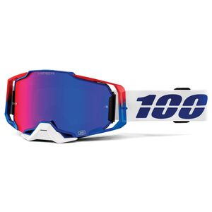 100% Armega Goggles - HiPER Mirrored Lens