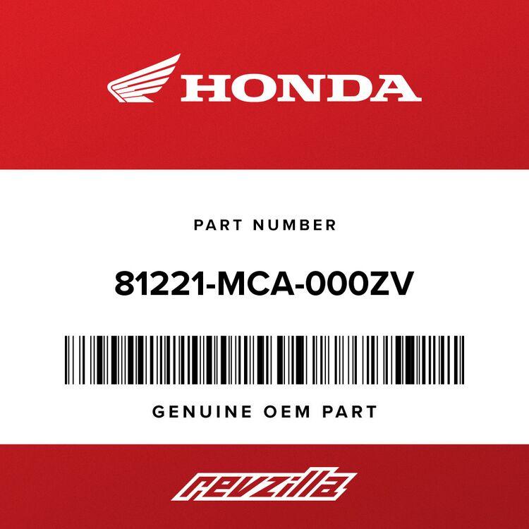 Honda LID, R. SADDLEBAG *R303M* (CABERNET RED METALLIC) 81221-MCA-000ZV