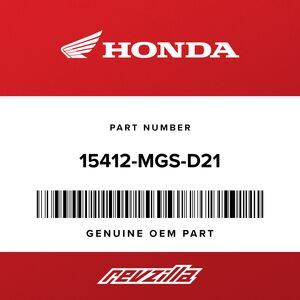 Honda Secondary Oil Filter 15412-MGS-D21