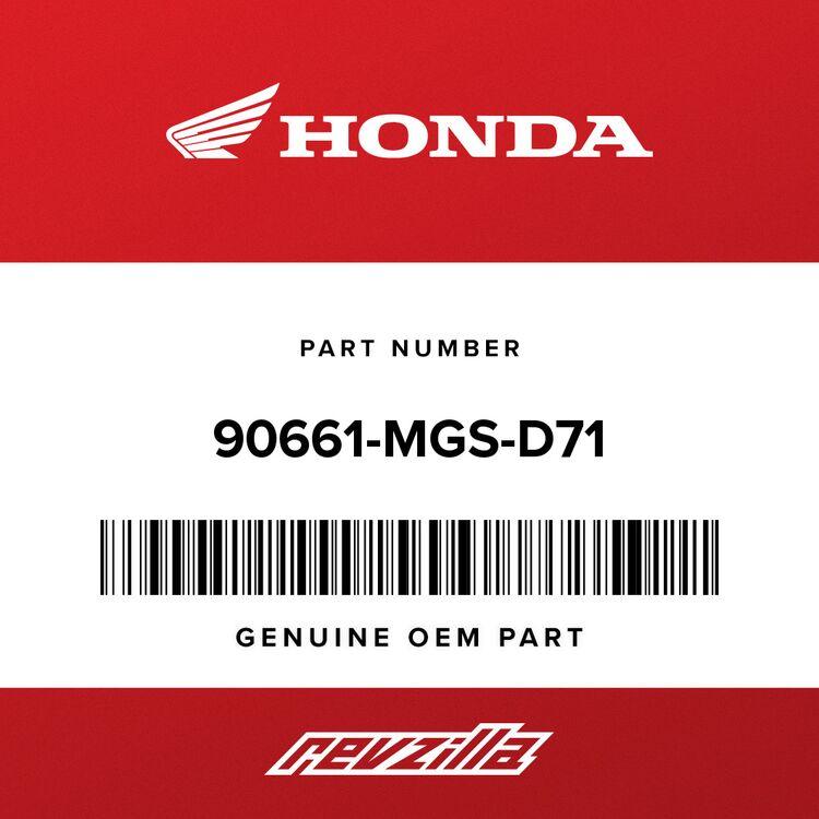 Honda CLAMP, BRAKE PIPE (7.0) 90661-MGS-D71