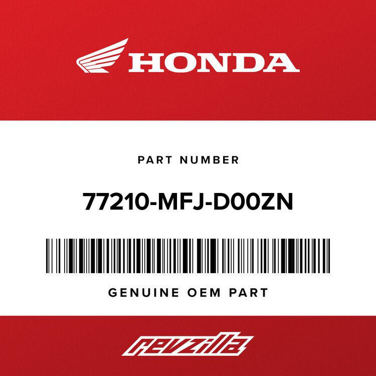 Honda COWL SET, RR. SEAT (TYPE8) (WL) 77210-MFJ-D00ZN