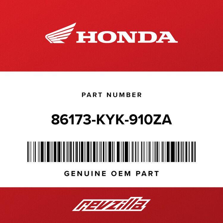 Honda STRIPE, R. TANK SHROUD B (TYPE1) 86173-KYK-910ZA