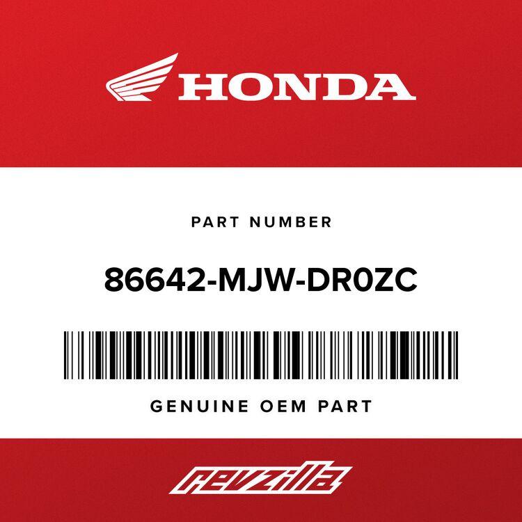 Honda STRIPE A, L. MIDDLE COWL (TYPE1) 86642-MJW-DR0ZC